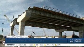 Gateway Expressway construction passes halfway point