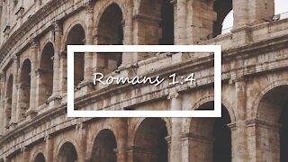 Romans 1:4 KJV