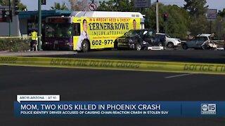 Mom, two kids killed in crash near 7th Avenue and Missouri