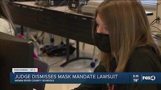 Judge dismisses mask mandate lawsuit