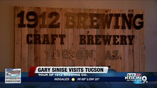 Gary Sinise visits Tucson brewery