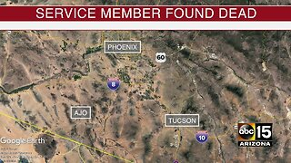 Service member found dead at the border
