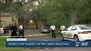 Deputies search for suspect after shooting incident in Tampa
