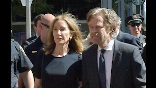 Felicity Huffman completes her college admissions sentence