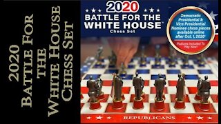 Battle for the White House Chess Set.