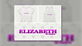 ELIZABETH. MY NAME IS ELIZABETH. SAMER BRASIL (TEEPUBLIC)