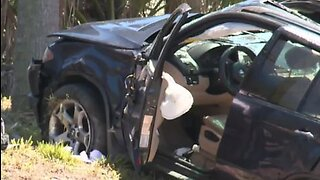Baby killed, 4 injured in I-95 rollover in Palm Beach Gardens