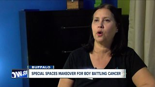 Home makeover for family with boy battling cancer