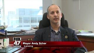 Mayor Schor wishes Chief Yankowski well on retirement
