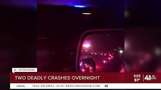 2 people dead in separate KCMO crashes