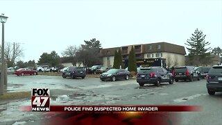 Police find suspected home invader