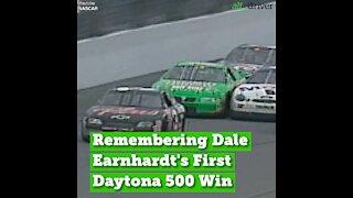 Remembering Dale Earnhardt's First Daytona 500 Win