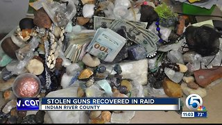 'Drug den' raided in Indian River County