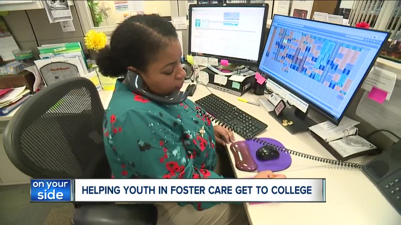Local mentoring program helps youths in foster care prepare for college