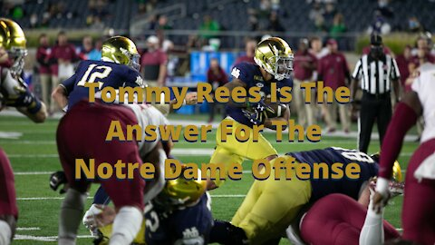 Notre Dame Football: Tommy Rees is the answer for the Irish offense