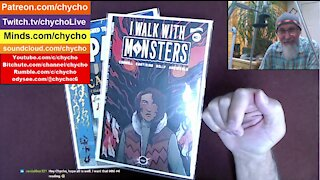 """Full Live Stream Comic Book Reading of """"I Walk With Monsters"""": Includes Poll & Discussion [ASMR]"""