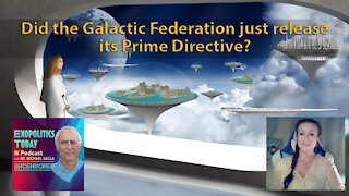 Did the Galactic Federation just release its Prime Directive?