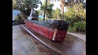 Coastal Merchant Ship