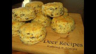Venison Cheddar Biscuits
