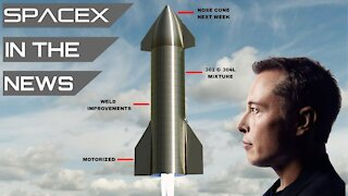 Elon Musk Shares New Starship Details | SpaceX in the News