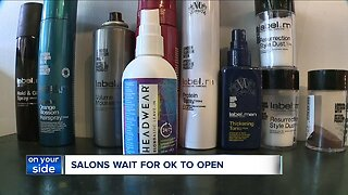 Despite uncertainty, salon owner begins planning for eventual reopening