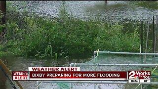 Bixby preparing for more flooding