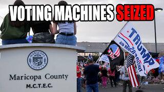 Arizona SEIZES Voting Machines for Forensic Audit!