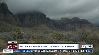 Red Rock Scenic Loop closed because of flooding