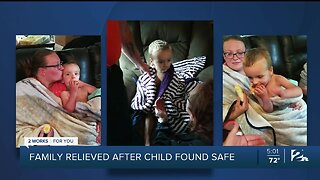 Missing 2-year-old boy found safe