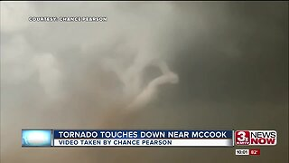 Tornado touches down near McCook