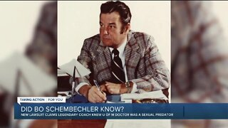 Lawsuit alleges Bo Schembechler knew of Dr. Robert Anderson's abuse