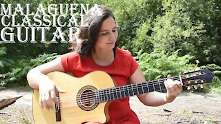 Malaguena Classical Guitar Cover
