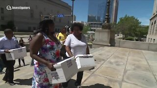 Supporters deliver 15,000 signatures to add Cleveland police oversight measure to November ballot