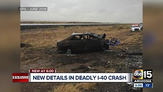 New details released in deadly I-40 crash involving wrong-way driver