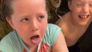 Mom plays hilarious prank on daughter
