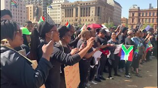 SOUTH AFRICA - Pretoria - Goverment march against gender-based violence (video) (AXV)