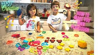 How to Make Play doh Homemade DIY Playdoh