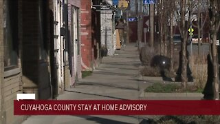 Cuyahoga County, Cleveland issue stay-at-home advisory effective Wednesday night through Dec. 17