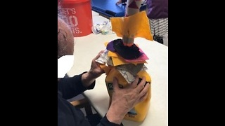 Fabric Ring Stack for Children with Sensory Processing Disorders