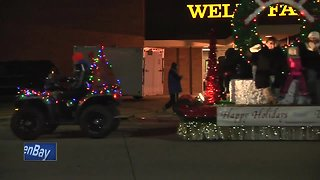 Reporting on the Appleton Christmas Parade