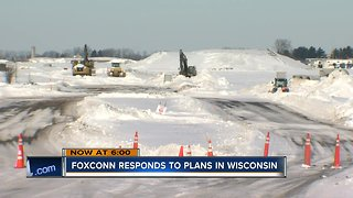Foxconn pushes back on reports about commitment to Wis.