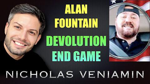 Alan Fountain Discusses Devolution End Game with Nicholas Veniamin