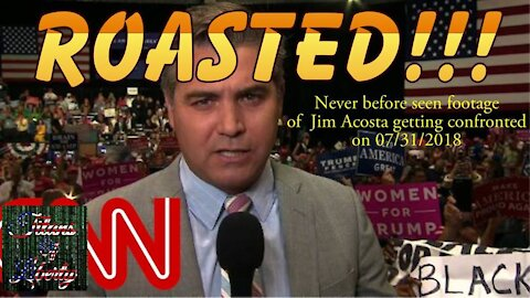 Jim Acosta confronted & roasted by Titans of Liberty's Jason Lo