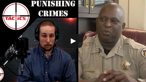 """Sheriff Cunningham to Gun Criminals- """"We want to make sure that you get the stiffest penalty..."""""""