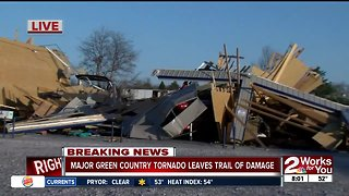 Major Green Country tornado leaves trail of damage