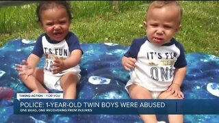 Police: 1-year-old twin boys abused in Ecorse