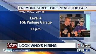 Fremont Street job fair happening today