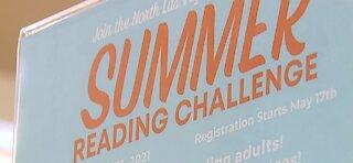 Las Vegas Lights supporting summer reading programs