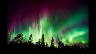 Norges fantastisk kraftige nordlys