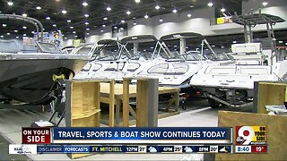 Travel, Sports & Boat Show continues today